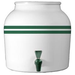 Green Stripe Crock 2 Gallon World Of Water Winnipeg